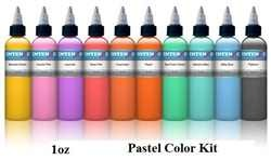 Intenze Ink 10 Color Set