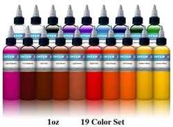 Intenze Ink 19 Color Set
