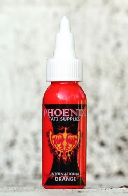 Phoenix International Orange Ink