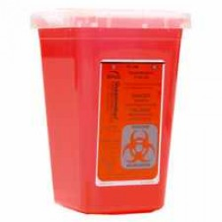 Sharps Bio-hazard Container 1 Quart