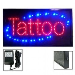 Tattoo Lighted Sign