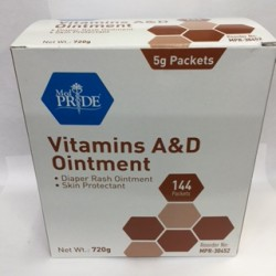 A & D Ointment 144 Strips